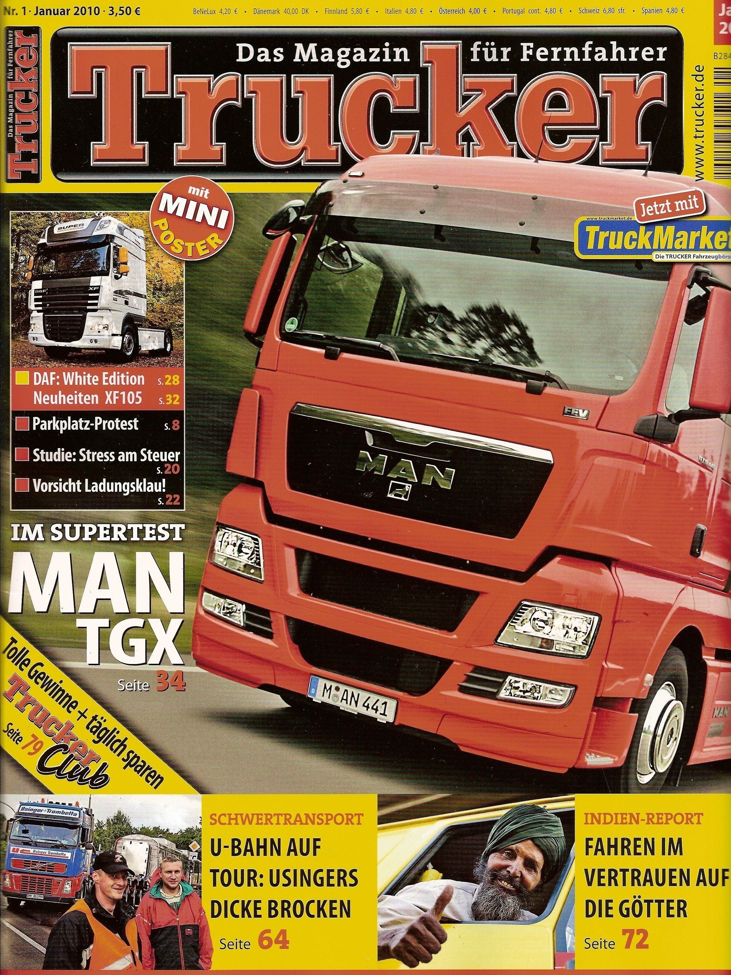 Trucker-Zeitschrift